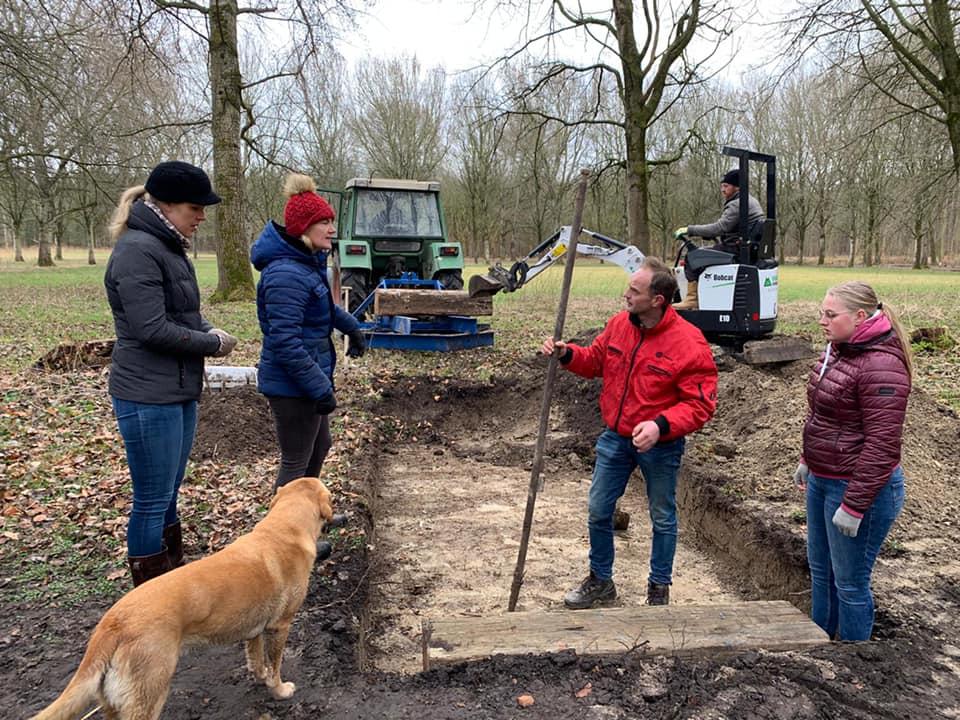 Parcour SGW Dijkgatbos krijgt nieuwe greppel
